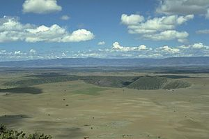 Durango volcanic field - La Breña-El Jagüey maar complex