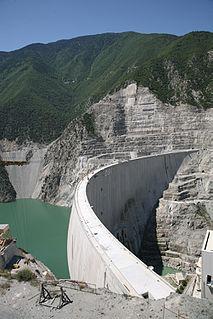 Deriner Dam Dam in Artvin, Artvin Province, Turkey