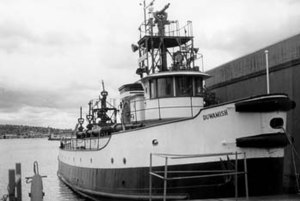 Duwamish (fireboat) - Image: Duwamish fire boat
