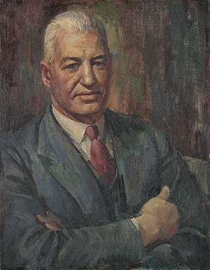 Ted Theodore - Theodore (1945), by William Pidgeon