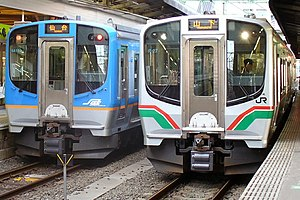 E721 series - E721-0 series (right) and SAT721 series (left), August 2007