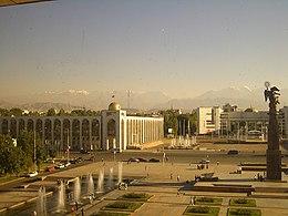 Biškek – Veduta