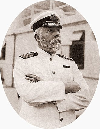Sea captain - Captain of the RMS Titanic, E J Smith