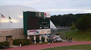 2010 Eastern Michigan Eagles football team - The scoreboard lost power early in the second quarter, and was not used for the remainder of the game.