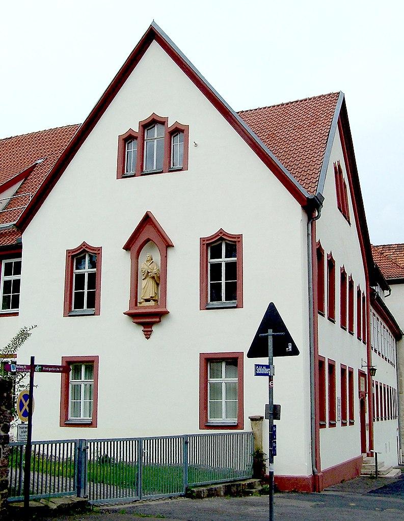 Latinskolan där Johann Sebastian Bach (och tidigare Martin Luther) gick, idag Martin Luther Gymnasium.