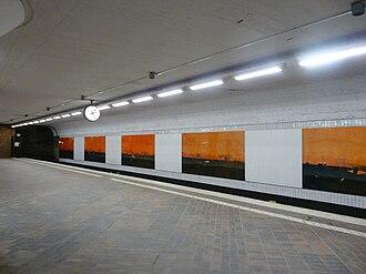 Skärholmen metro station - Image: EU SE Stockholm Skärholmen Skärholmen 014