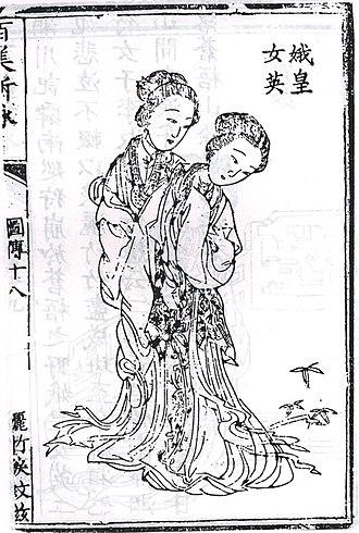 Xiangshuishen - E Huang and Nü Ying, Qing dynasty, China