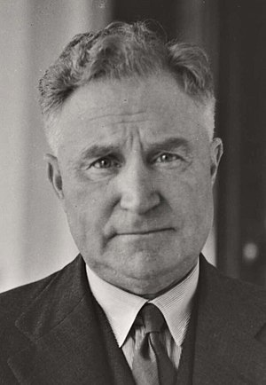 National Party of Australia - Sir Earle Page, Prime Minister of Australia 1939.