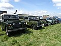 Early Landrover line up - geograph.org.uk - 1294531.jpg