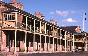 Paddington, New South Wales - Officer's quarters, Victoria Barracks