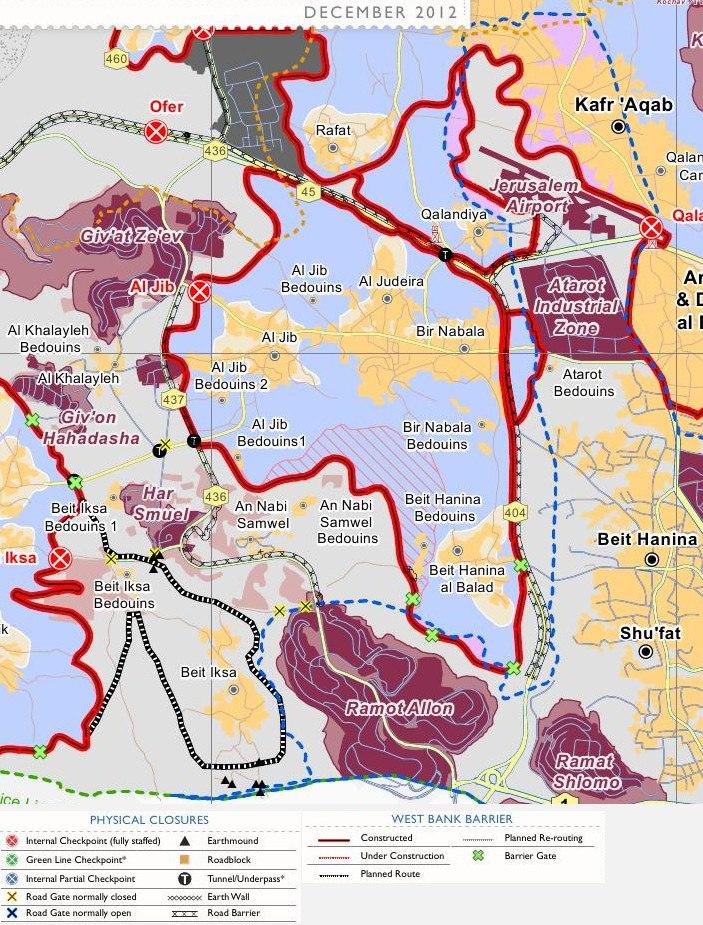 East Jerusalem enclaves