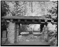 East side - Obsidian Cliff Kiosk, Near Obsidian Cliff on Grand Loop Road, Mammoth, Park County, WY HABS WYO,15-MAHOSP.V,4-1.tif