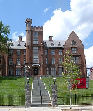 University Heights, Newark - Eberhardt Hall, NJIT