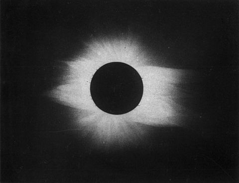 Total eclipse of the