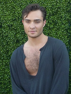 "Chalet Girl - Ed Westwick took the role of Jonny as he liked the idea of portraying a ""nice guy""."
