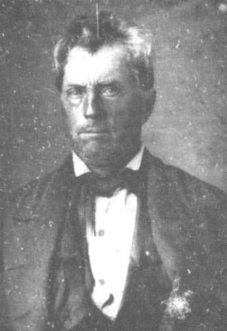 Edward Burleson - Edward Burleson in photograph, prior to 1851