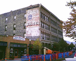 Ghost sign - Ghost sign for Eddy's Bread, before 2012 restoration