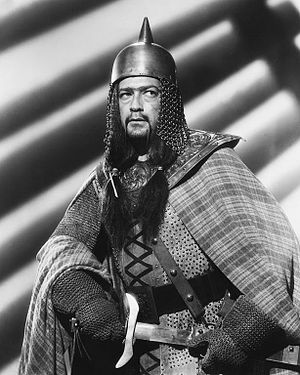 Edgar Barrier - Barrier as Banquo in Macbeth, 1948.