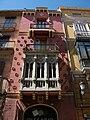 Edifici Ros Ferrer, carrer Quart de València.JPG