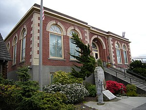 National Register of Historic Places listings in Snohomish County, Washington - Image: Edmonds WA museum 02