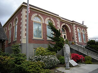 Edmonds, Washington - The Carnegie Library is the only building in Edmonds with a national historic designation.