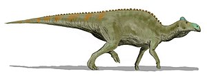1917 in paleontology - Edmontosaurus