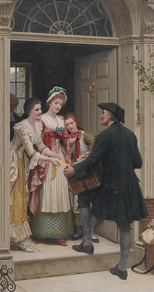 File:Edmund Blair Leighton - Ribbons and Lace.jpg