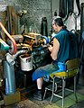 Edmund Davidson grinding an INEGRAL KNIFE.jpg