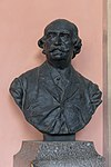 Eduard Hanslick (Nr. 46) Bust in the Arkadenhof, University of Vienna 2272.jpg