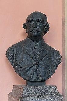 Büste von Eduard Hanslick im Arkadenhof der Universität Wien (Quelle: Wikimedia)
