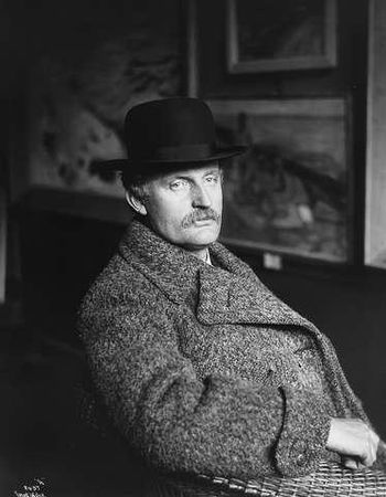 Norwegian painter Edvard Munch.