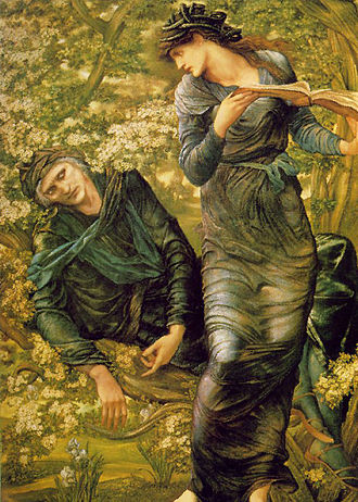Deception - The Beguiling of Merlin, by Edward Burne-Jones, 1874
