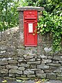 Edward VII postbox, Station Road, Allendale - geograph.org.uk - 488247.jpg