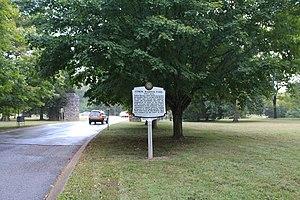 Warner Parks - Historic marker within Edwin Warner Park