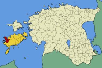 Kihelkonna Parish - Image: Eesti kihelkonna vald