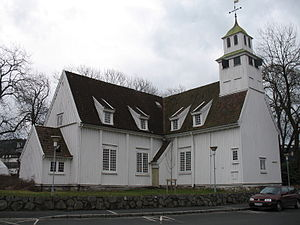 Egersund - Present-day Egersund Church