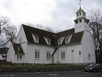 Egersund - Present-day Egersund Church