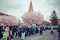 Eglise Limas pendant la fete des conscrits.jpg