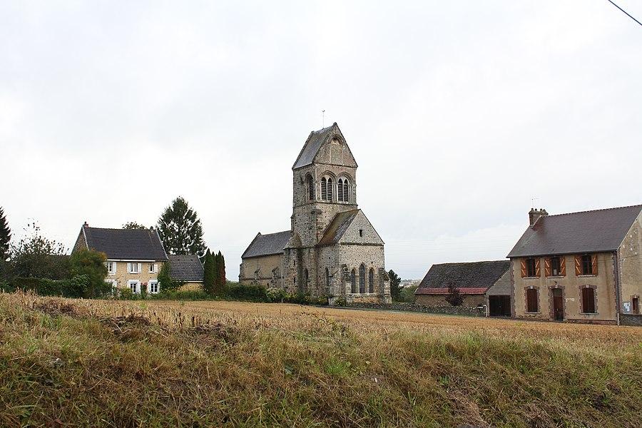 Église Notre-Dame de Corribert,  (Classé, 1979)