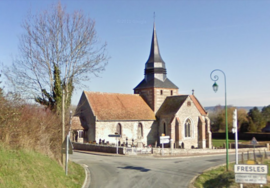 The church in Fresles