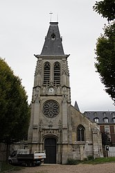The church in Mont-Saint-Aignan
