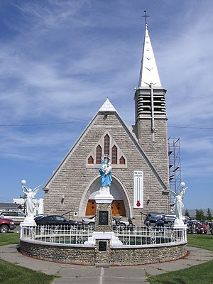 Saint-Quentin, New Brunswick - Church in Saint-Quentin, New Brunswick.