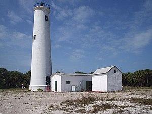 Egmont Key State Park - Image: Egmont Key lighthouse 01