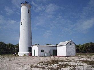 Egmont Key State Park and National Wildlife Refuge - Image: Egmont Key lighthouse 01