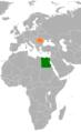 Egypt Romania Locator.png
