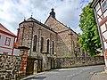 Einer im 16. Jahrhundert gebildeten Gründungssage zufolge wurde das Kloster 847 als Frauenkloster in Lamspringe durch Graf Ricdag, einem sächsischen Adligen aus der Familie der Immedinger, an der Quelle der Lamme und - panoramio.jpg