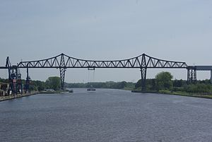 Kiel Canal - The Rendsburg High Bridge