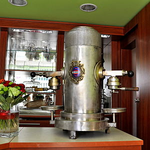 Coffeemaker - Product of the Polish company Pol-Ekspres (1930s)
