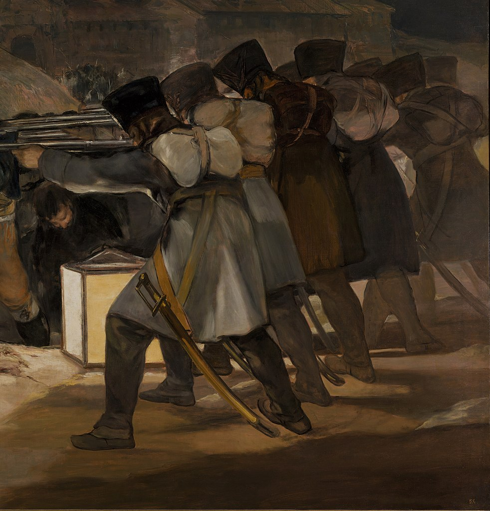 File El Tres De Mayo By Francisco De Goya From Prado In
