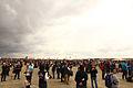 El público en la pista de la Base Aérea de Torrejón de Ardoz (15514980506).jpg